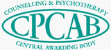 Counselling & Psychotherapy Central Awarding Body logo